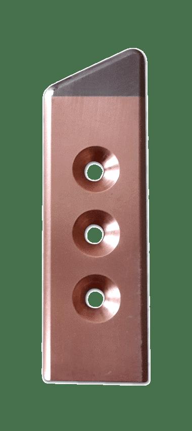 Electrode avec insert- Alliage de cuivre